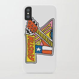 Austin TX iPhone Case