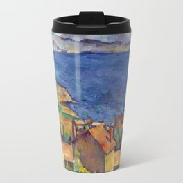 1885 - Paul Cezanne - The Bay of Marseilles, Seen from L'Estaque Travel Mug