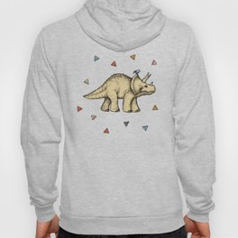 Triceratops & Triangles Hoody