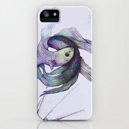 Self Enemy iPhone Case