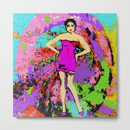 WOMAN EMPOWERED:  I TWIRL ON MY HATERS Metal Print