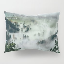 The Rolling Gray Pillow Sham