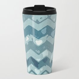 Abstract Wave Travel Mug