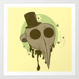 Plague Rotter Art Print