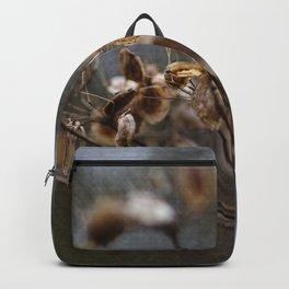 Winter Flower Backpack