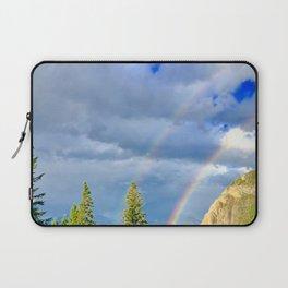Canadian Rocky Rainbow Laptop Sleeve