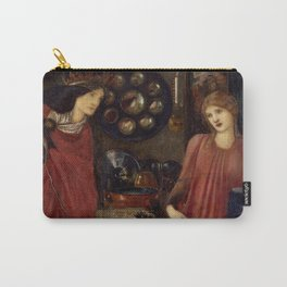 "Edward Burne-Jones ""Fair Rosamund and Queen Eleanor"" Carry-All Pouch"