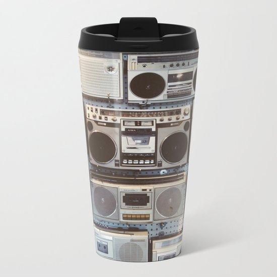 Boom boxes Metal Travel Mug