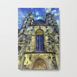 St Stephens Cathedral Vienna Van Goth Metal Print