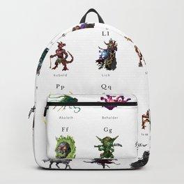 Monster Alphabet Backpack
