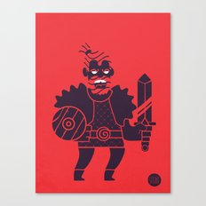 Barbarian Canvas Print