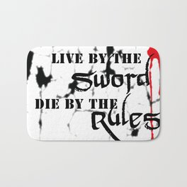 Live By Bath Mat