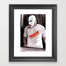 Come On Down To Captain Spaulding's Museum Of Monsters And Mad-Men Framed Art Print
