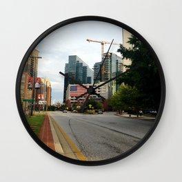 A Walk To Baltimore's Fleet Street Wall Clock