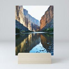 Texas Canyon Stream Mini Art Print