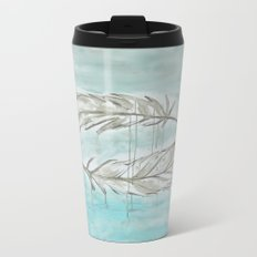 Feathers and memories Metal Travel Mug