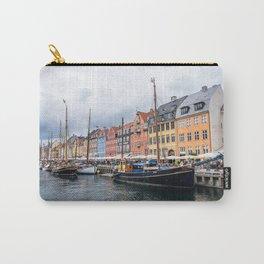 Nyhavn waterfront in Copenhagen Carry-All Pouch