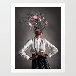 The Eternal Grace of Understanding  Art Print