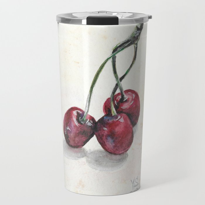 Cherry Travel Mug