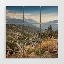 Inspiration Point along Pacific Crest Trail Wood Wall Art
