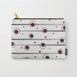 Dots and Dashes Carry-All Pouch