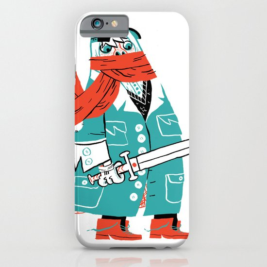 Creepy Scarf Guy iPhone & iPod Case