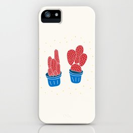 Happy Cacti iPhone Case