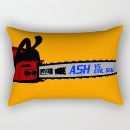 ASH VS EVIL DEAD I Rectangular Pillow