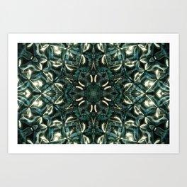 abstract flower Art Print