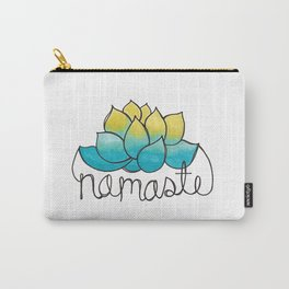 Namaste Lotus Flower Doodle  Carry-All Pouch