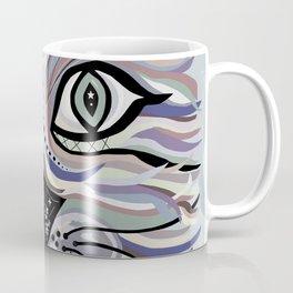 Denim Cat Coffee Mug