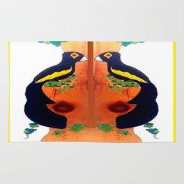 The Bird  Rug