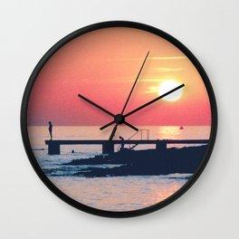 Lost Summer Wall Clock