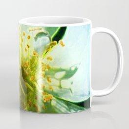 Yellow Rose Center with smokey overlay by CheyAnne Sexton Coffee Mug