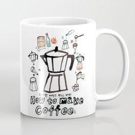 How to make coffee! Coffee Mug