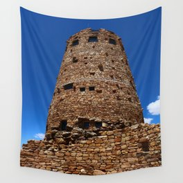 Desert View Watchtower - South Rim Grand Canyon Wall Tapestry
