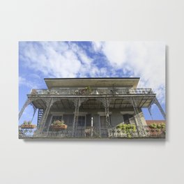New Orleans French Quarter Bliss Metal Print