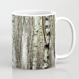 Birkenwald im Winter Coffee Mug