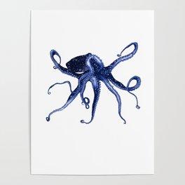Cosmic Octopus II Poster