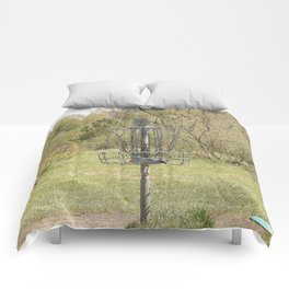 Brown Park Disc Golf Course Comforters