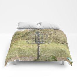 Brown Park Disc Golf Course Comforters
