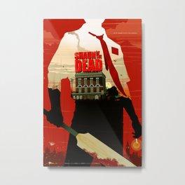 Shaun Of The Dead Metal Print