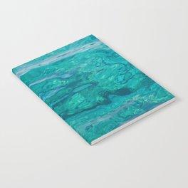 Mediterranean Water Notebook