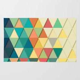 Colorful Triangle Rug