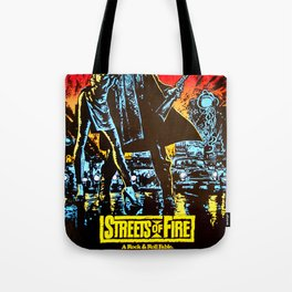streets of fire Tote Bag
