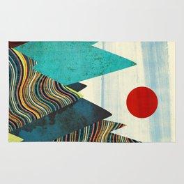 Color Peaks Rug
