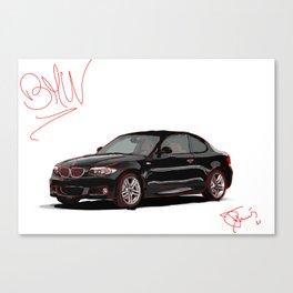 David Toms Car Canvas Print