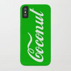 Coconut iPhone X Slim Case