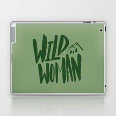 Wild Woman x Green Laptop & iPad Skin