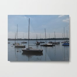 Lake Harriet Sailboats Metal Print